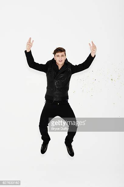 DJ Martin Garrix is photographed for People Magazine on April 16 2014 in Los Angeles California