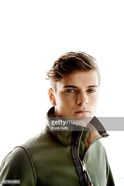 DJ Martin Garrix is photographed for People Magazine on April 16 2014 in Los Angeles California PUBLISHED IMAGE