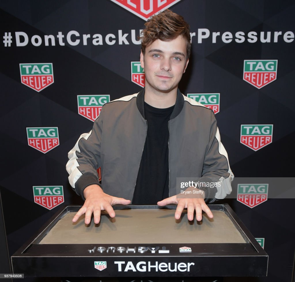 Tag Heuer Brand Ambassador, Martin Garrix Makes Special Appearance at Las Vegas Tag Heuer Forum Shop's Boutique
