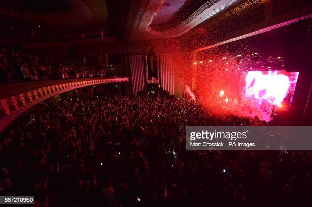 Martin Garrix performing during Capital's Monster MashUp With VOXI by Vodafone The event took place at London's Eventim Apollo tonight Capital's...