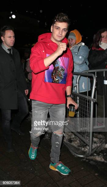 Martin Garrix seen attending The Global Awards at Hammersmith Apollo on March 01 2018 in London England