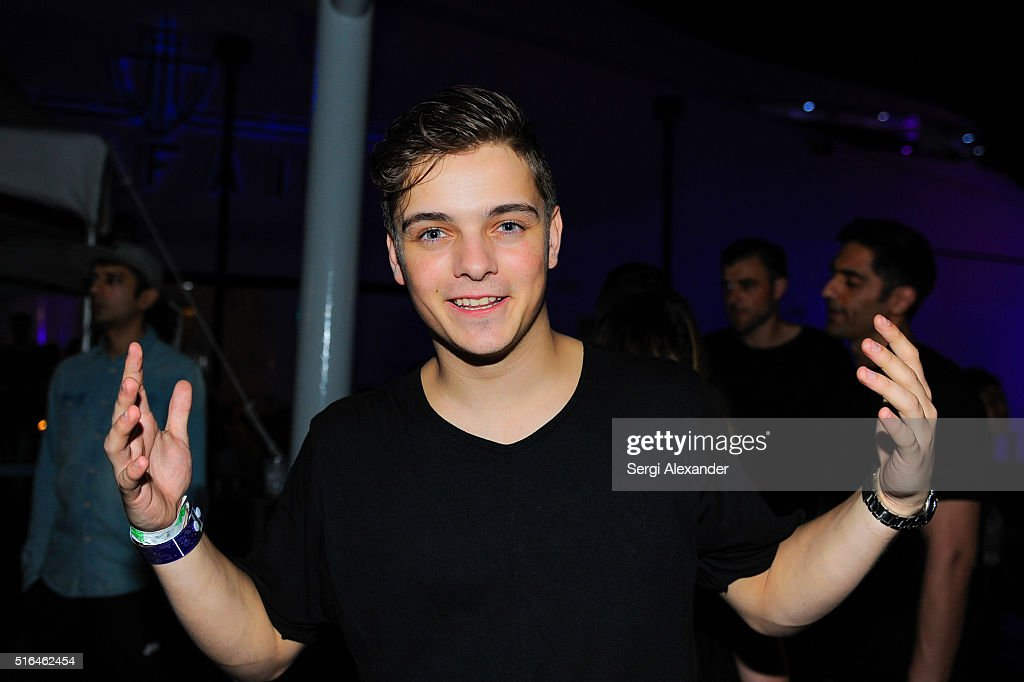 DJ Martin Garrix seen backstage at the Ultra Music Festival 2016 on March 18, 2016 in Miami, Florida.