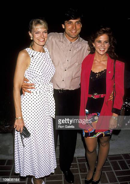 Martin, Gerard Christopher, and Linda Blair during Universal Studios Private Party at the Grand Cypress Resort - June 6, 1990 at Grand Cyprus Resort...