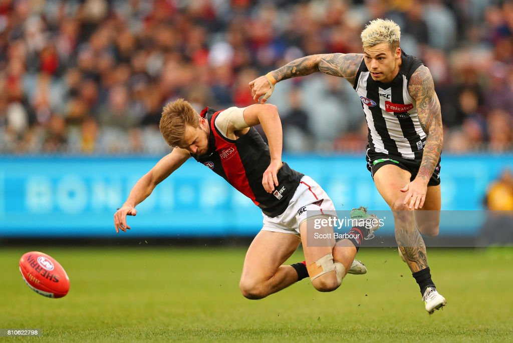 AFL Rd 16 - Collingwood v Essendon
