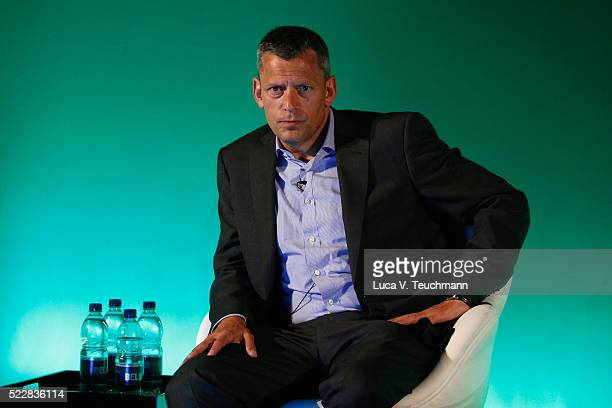 Martin Glenn CEO at The FA attends Leading Change An Interview with Martin Glenn during Advertising Week Europe 2016 at Picturehouse Central on April...