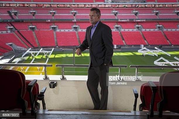 Martin Glenn chief executive officer of the Football Association poses for a portrait at Wembley Stadium on October 18th 2016 in London