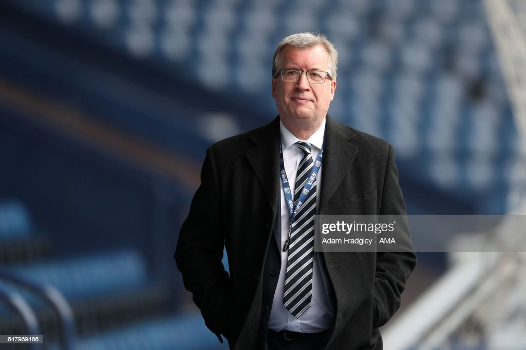 Martin Goodman Chief Executive of West Bromwich Albion during the Premier League match between West Bromwich Albion and Crystal Palace at The Hawthorns on March 4, 2017 in West Bromwich, England.