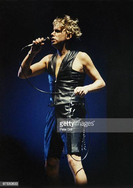 Martin Gore of Depeche Mode performs on stage at Wembley Arena on December 20th, 1993 in London, England.