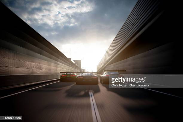 Martin Grady of Great Britain and Team Audi competes in the Grand Final of the Manufacturer Series during the Gran Turismo World Tour 2019 Finals...