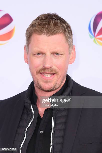 Martin Gruber attends the photo call for the television film 'Nackt Das Netz vergisst nie' at Astor Film Lounge on March 27 2017 in Berlin Germany