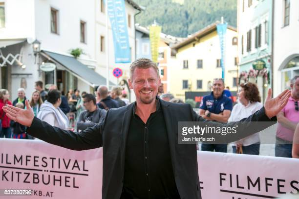 Martin Gruber poses for a picture during the 'Inconvenient Sequel' premiere and opening night of the Kitzbuehel Film Festival 2017 at Filmtheater...