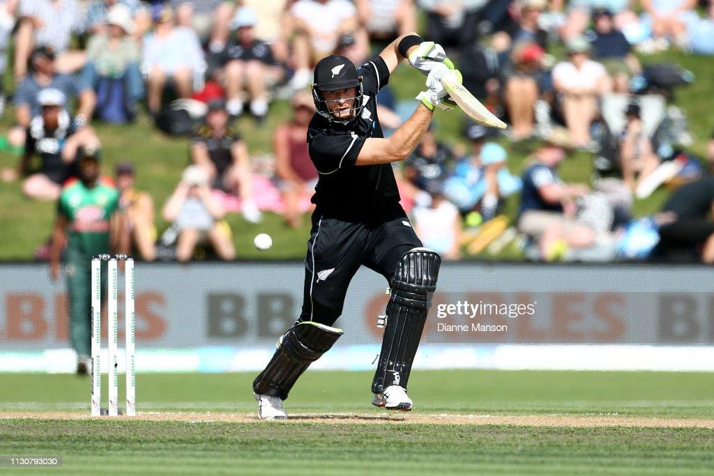 NZL: New Zealand v Bangladesh - ODI Game 3