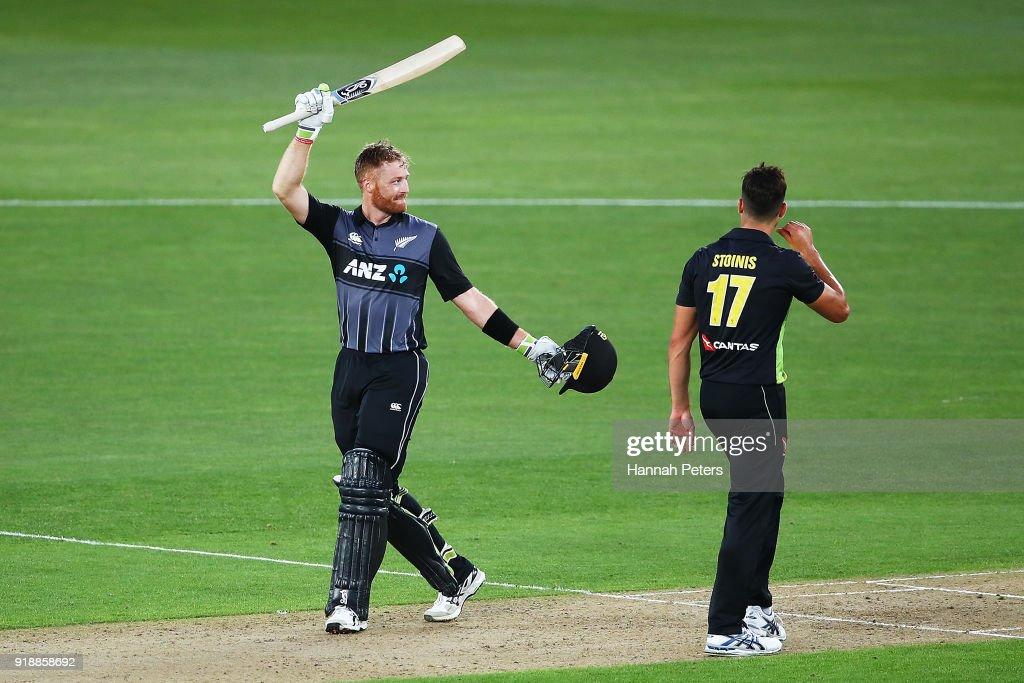 New Zealand v Australia: T20 Tri Series