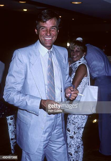 Martin Hall attends the 21st Annual Jerry Lewis MDA Labor Day Telethon on September 1 1986 at Caesars Palace in Las Vegas