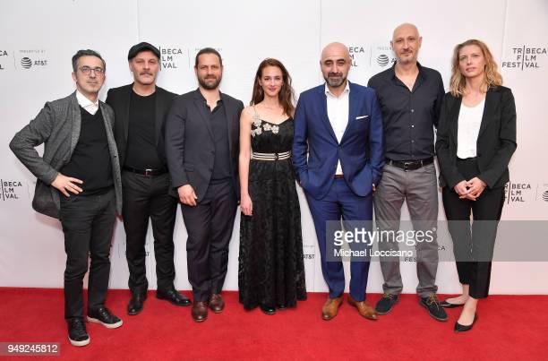 Martin Hampel Fatih Al Adam Bousdoukos Viky Papadopoulou Ozgur Karadeniz Marios Piperides and Janine Teerling attend the screening of 'Smuggling...