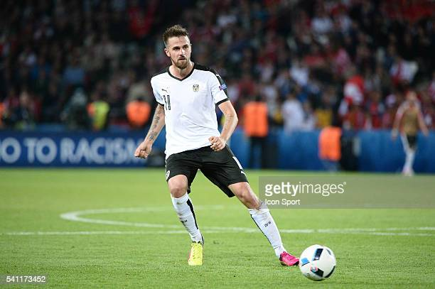 Martin Harnik of Austria during the UEFA EURO 2016 Group F match between Portugal and Austria at Parc des Princes on June 18, 2016 in Paris, France.