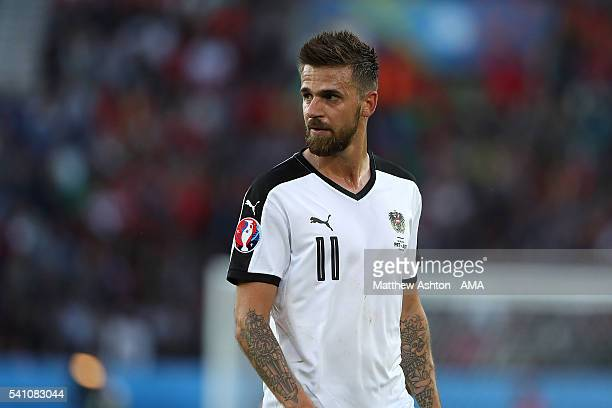Martin Harnik of Austria looks on during the UEFA EURO 2016 Group F match between Portugal and Austria at Parc des Princes on June 18, 2016 in Paris,...