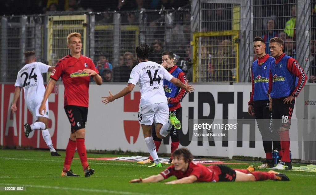 SC Freiburg v Hannover 96 - Bundesliga : News Photo