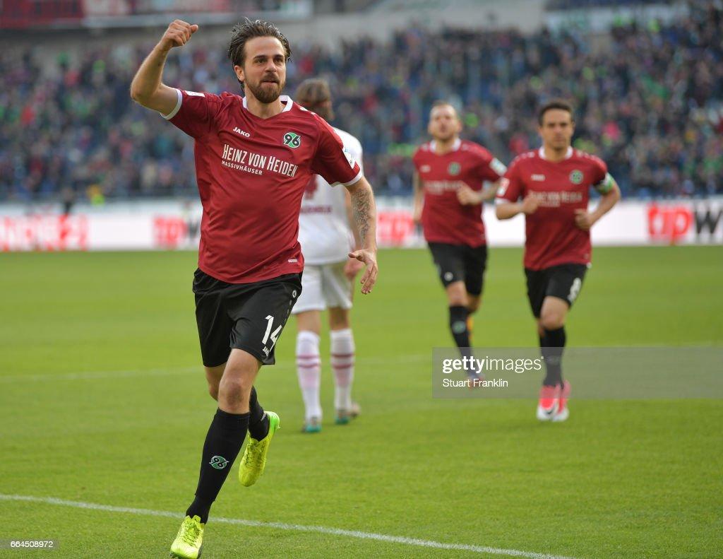 Hannover 96 v 1. FC Nuernberg - Second Bundesliga