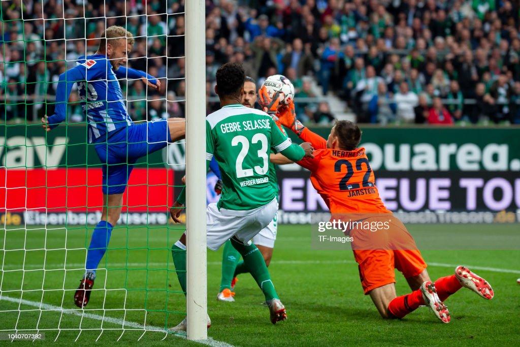 SV Werder Bremen v Hertha BSC - Bundesliga : Nachrichtenfoto