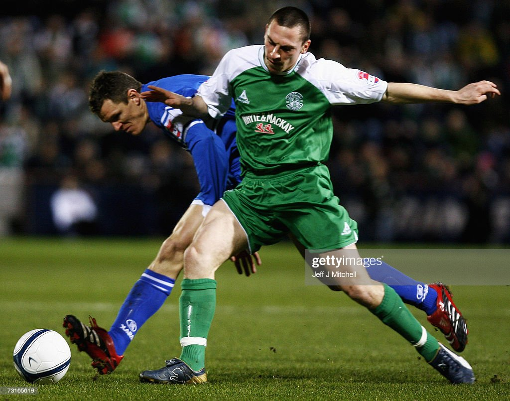 CIS Insurance Cup Semi Final: St. Johnstone v Hibernian : News Photo