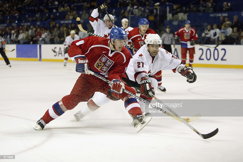 Olympic Hockey Cze v Can : News Photo
