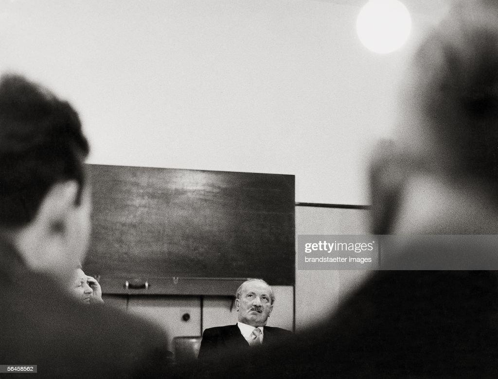 Martin Heidegger : News Photo