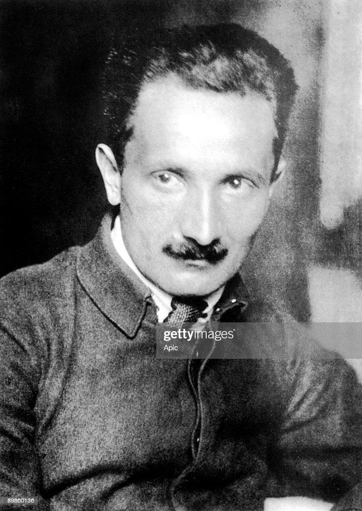 Martin Heidegger (1889-1976) german philosopher c. 1920 : News Photo