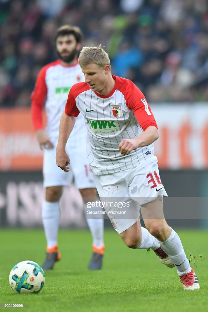 FC Augsburg v VfB Stuttgart - Bundesliga : News Photo