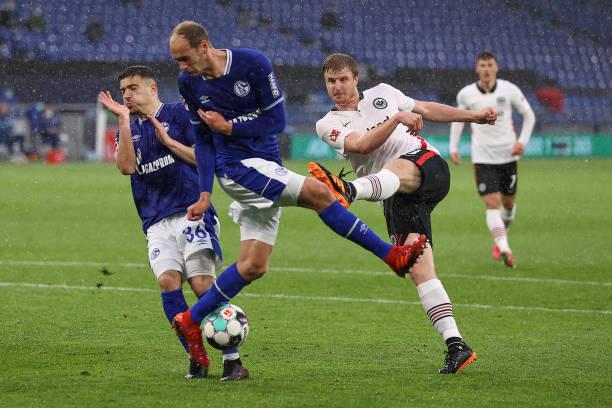 DEU: FC Schalke 04 v Eintracht Frankfurt - Bundesliga