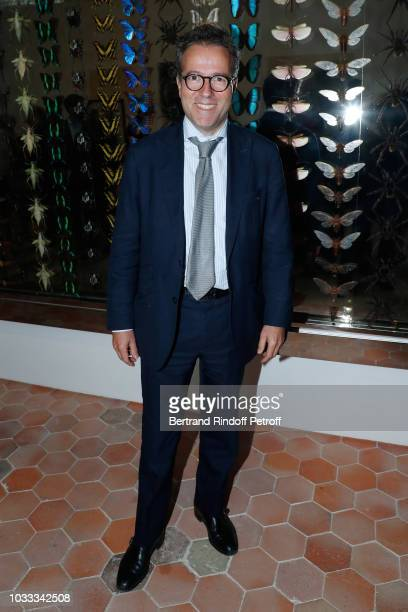 Martin Hirsch attends the Kering Heritage Days Opening Night at 40 Rue de Sevres on September 14 2018 in Paris France