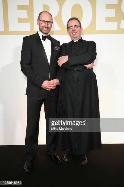 Martin HoughtonBrown and The Reverend Richard Coles attend the St John Ambulance Everyday Heroes Awards supported by Laerdal Medical which celebrate...
