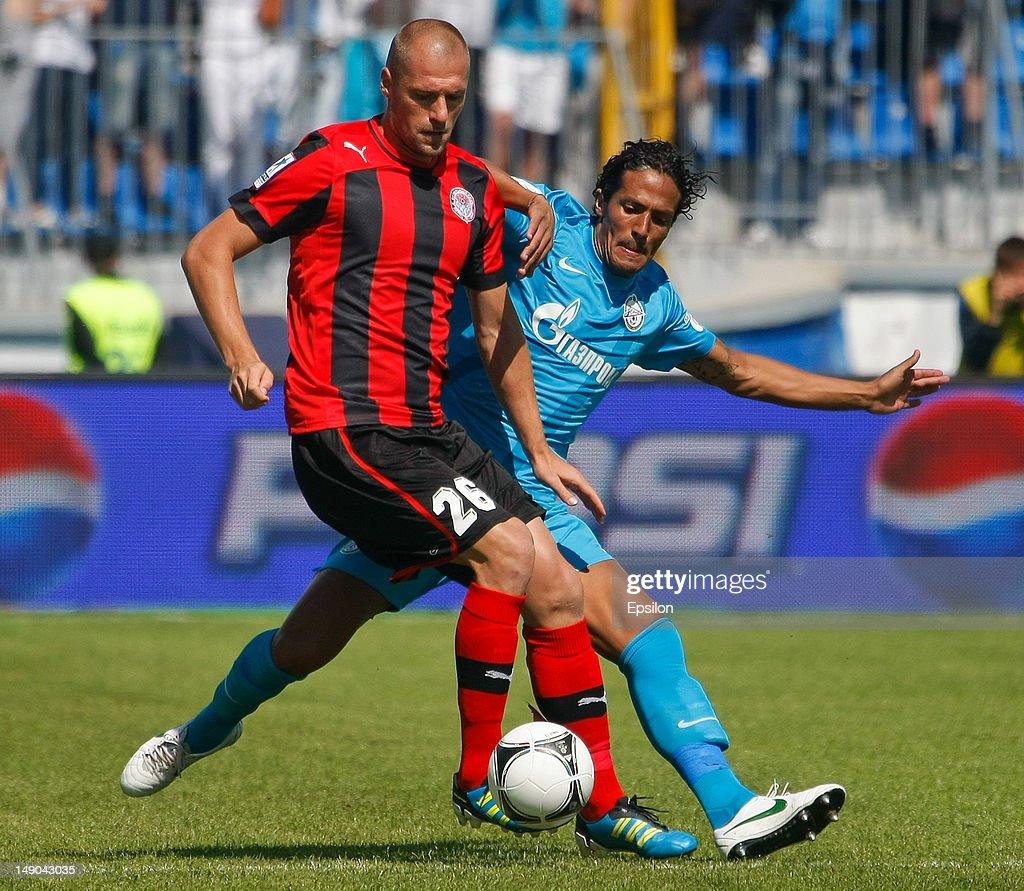 FC Zenit St Petersburg v FC Amkar Perm - Premier League