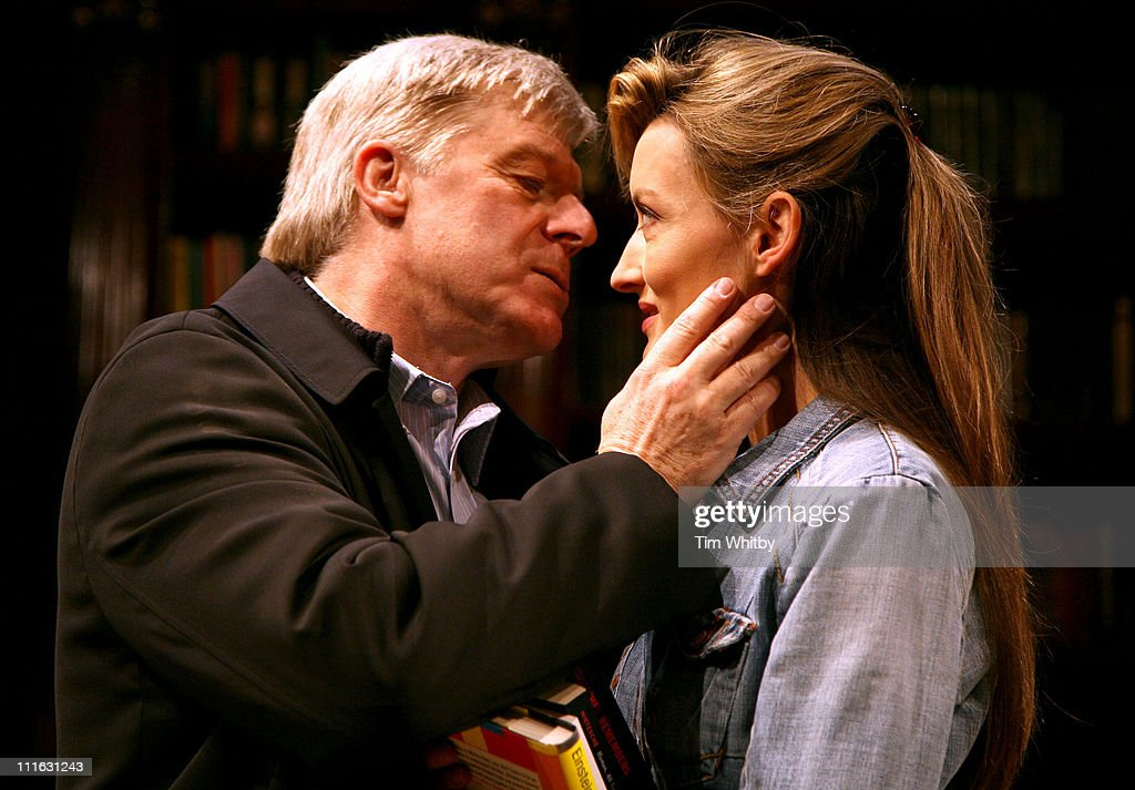 Martin Jarvis and Natascha McElhone during 'Honour' at Wyndham's Theatre - Photocall at Wyndhams Theatre in London, Great Britain.