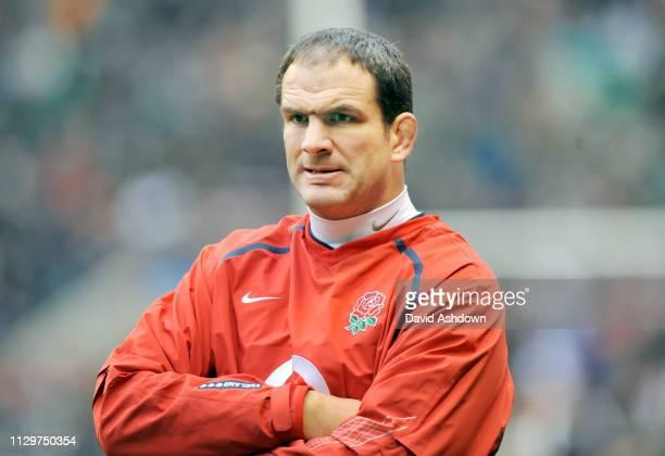 Martin Johnson England team manager England v New Zealand Rugby Union at Twickenham 29th November.