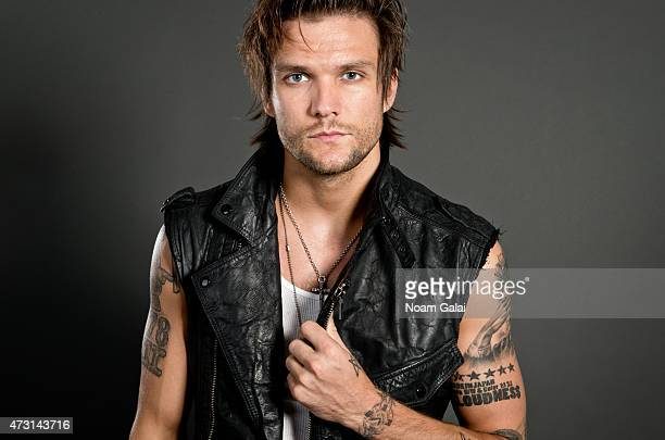 Martin Johnson of Boys Like Girls poses for a portrait on July 26 2012 in New York City