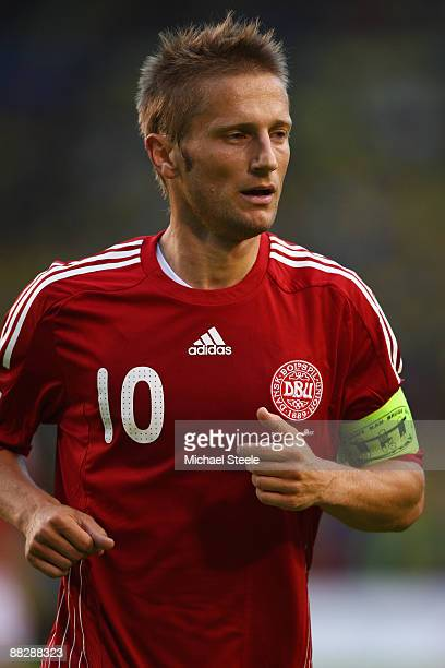 Martin Jorgensen of Denmark during the FIFA2010 World Cup Qualifying Group 1 match between Sweden and Denmark at the Rasunda Stadium on June 6, 2009...