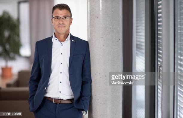 Martin Kaloudis, CEO , BWInGmbH. On August 20, 2020 in Bonn, Germany.