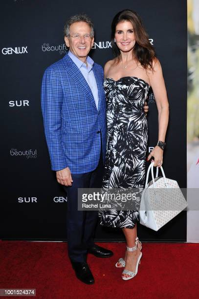 Martin Katz and Kelly Fisher attend the GENLUX Fashion And Philanthropy Magazine Issue Release Party hosted by actress/model Olivia Jordan at SUR...