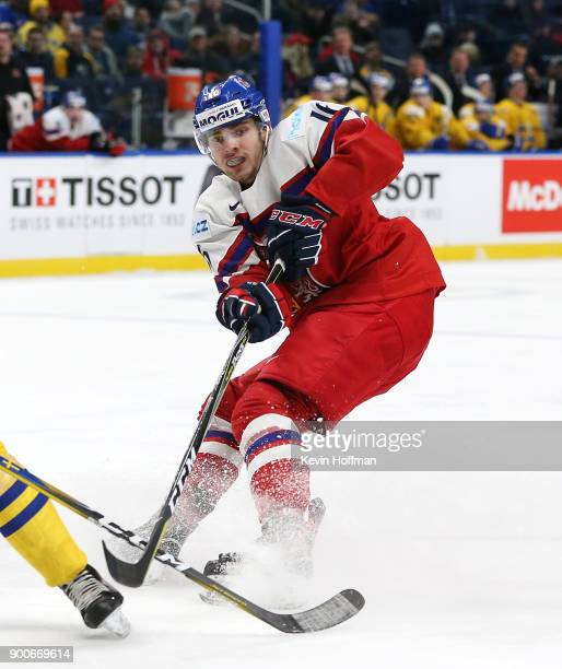 Martin Kaut of Czech Republic during the IIHF World Junior Championship against Sweden at KeyBank Center on December 28 2017 in Buffalo New York