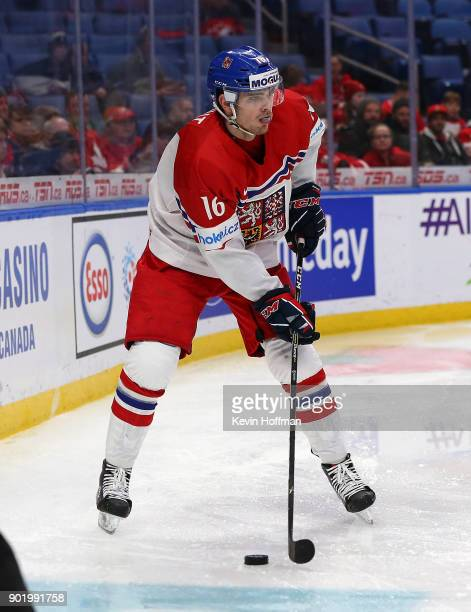 Martin Kaut of Czech Republic during the IIHF World Junior Championship against Canada at KeyBank Center on January 4 2018 in Buffalo New York Canada...