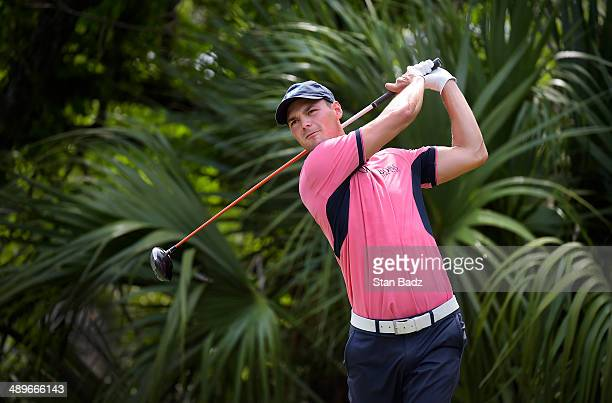Martin Kaymer of Germany hits a drive on the fifth hole during the final round of THE PLAYERS Championship on THE PLAYERS Stadium Course at TPC...