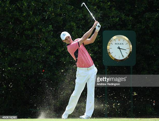 Martin Kaymer of Germany hits his tee shot on the first hole during the third round of the 114th US Open at Pinehurst Resort Country Club Course No 2...
