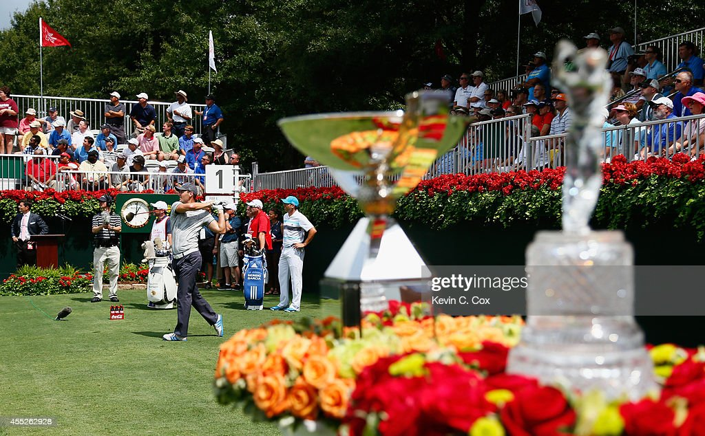 TOUR Championship by Coca-Cola - Round One : News Photo