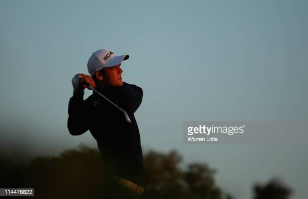 Martin Kaymer of Germany in action during his last 16 match of the Volvo World Match Play Championships at Finca Cortesin on May 20, 2011 in Casares,...