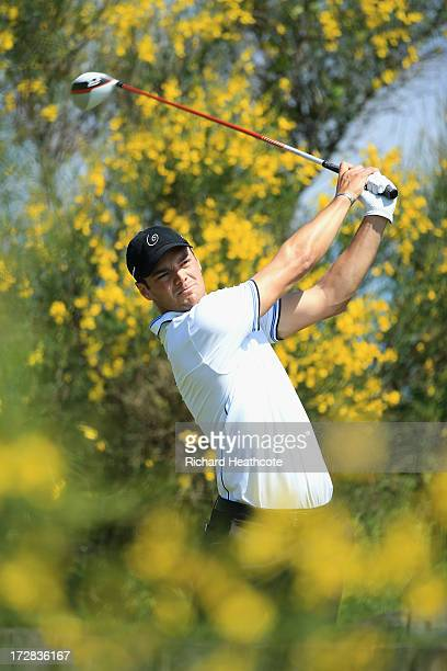Martin Kaymer of Germany in action during the second round of the Alstom Open de France at Le Golf National on July 5 2013 in Paris France