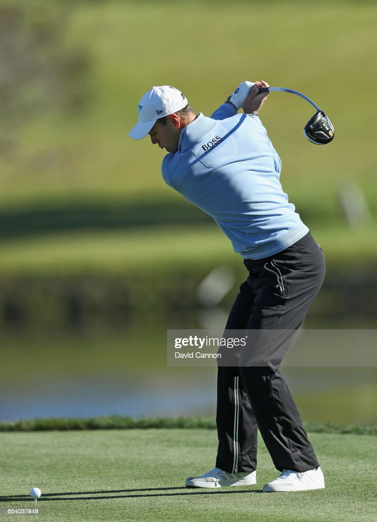 Martin Kaymer of Germany plays his tee shot on the par 5, 16th hole during the first round of the 2017 Arnold Palmer Invitational presented by MasterCard on March 16, 2017 in Orlando, Florida.