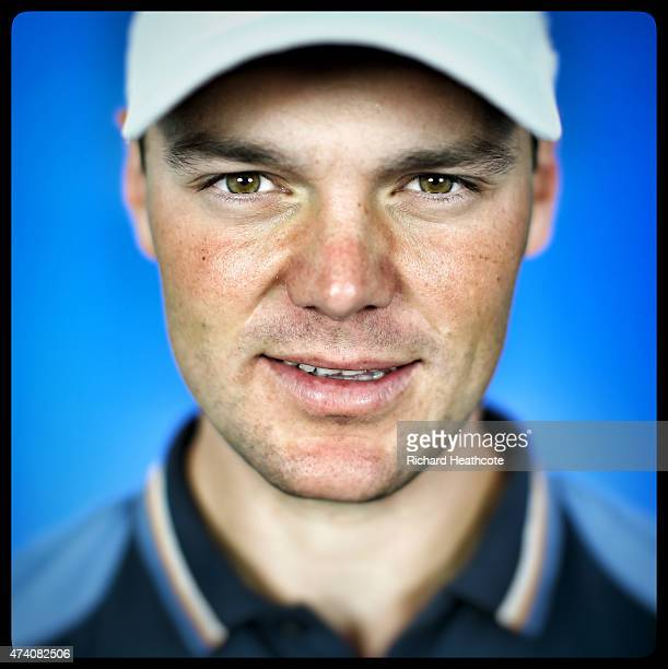 Martin Kaymer of Germany poses for a portrait during a practice day for the BMW PGA Championships at Wentworth on May 20 2015 in Virginia Water...
