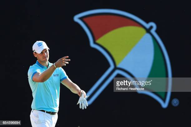 Martin Kaymer of Germany walks on the 18th hole during the second round of the Arnold Palmer Invitational Presented By MasterCard at Bay Hill Club...