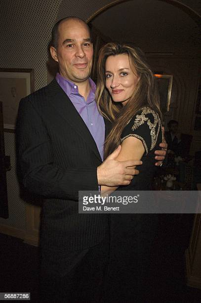 Martin Kelly and Natasha McElhone attend Finch Partners' PreBAFTA Party hosted by the former CEO of Artists Independent Network Charles Finch on the...